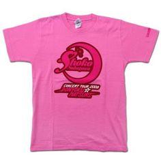 中川翔子 プリズムパワーTシャツ ピンク Mサイズ 「中川翔子 コンサートツアー 2008~貪欲☆まつり~」
