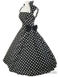 Polka Dot Swing Dress I ADORE this dress!!!