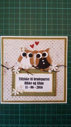 Bryllupskort /wedding card