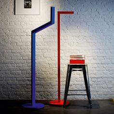 NickKnack Red, Floor Lights, Gloco - & Home Lighting