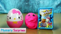 #HelloKitty #Surpriseegg #Shopkins #Play Doh #Kinder lets see what we get inside :)
