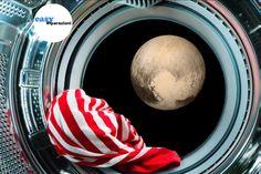 Stanco della lavatrice guasta? Non gettarla nello spazio alla ricerca di plutone,chiama Easyriparazioni!! Visita easyriparazioni.com e prenota per ricevere assistenza su qualsiasi elettrodomestico