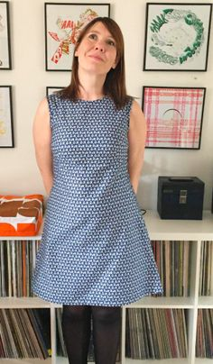 Wendy's Francoise dress - sewing pattern by Tilly and the Buttons