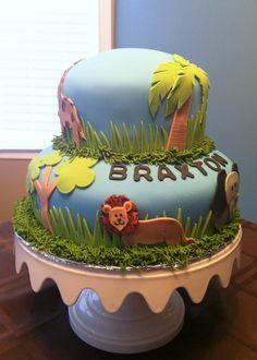 Safari Cake - By Badabing Cakes