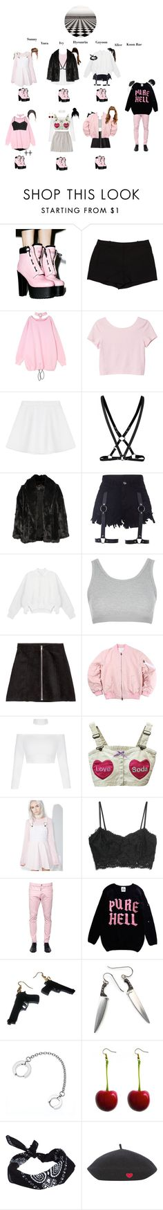 Designer Clothes, Shoes & Bags for Women Kpop Fashion Outfits, Stage Outfits, Womens Fashion, Scream Queens, Crybaby Melanie, Kpop Girl Groups, Kpop Girls, Melanie Martinez, Grunge