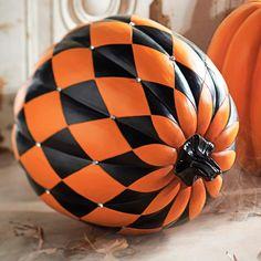 Jeweled Harlequin Pumpkin