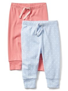 Cuddle & Play Pull-On Pants (2-Pack)