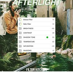 Afterlight Filter, Foto Editing, Lightroom, Photoshop, Vsco Themes, Aesthetic Filter, Photography Filters, Different Tones, Vsco Filter