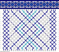 Muster # 50063, Streicher: 28 Zeilen: 20 Farben: 3