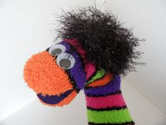 GoblinorSock Hand Puppet for Adoption by Ruhammie on Etsy, $4.25