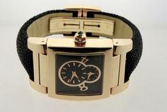 Authentic De Grisogono No Uno 18K Rose gold Automatic Watch - http://menswomenswatches.com/authentic-de-grisogono-no-uno-18k-rose-gold-automatic-watch/ COMMENT.
