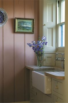 Trending Paint Colors, Shabby Chic, Farrow Ball, Interior Exterior, Sweet Home, New Homes, Home Appliances, House Design, House Styles