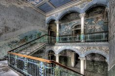 The 38 Most Haunted Abandoned Places on Earth - Military Hospital, Beelitz, Germany