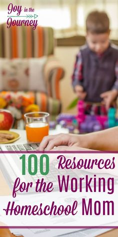 Have you been wanting to become a working homeschool mom but maybe aren't' sure where to start? Or maybe you are a working homeschool mom, but you just need encouraged, or tips to help you on this journey. Look no farther! I have compiled the BEST resourc Mom Advice, Parenting Advice, Kids And Parenting, Time Management Tips, Homeschool Curriculum, Homeschooling Resources, Home Schooling, Work From Home Moms, Working Moms