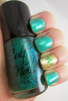 Lustrous Lacquer: The Get Lucky Nail Art Challenge: Day 4 Freestyle