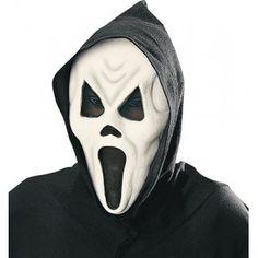 Masque phosphorescent avec cagoule Fantôme triste