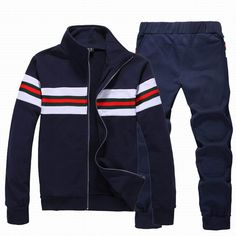 NEW Gucci Tracksuit For Replica Clothing Mens Sweat Suits, Designer Jackets For Men, Lacoste, Casual Outfits, Men Casual, Track Suit Men, Gucci Outfits, Mens Clothing Styles, Sportswear