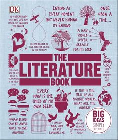 From The Great Gatsby to Frankenstein, discover the greatest literature ever written with The Literature Book, out in March!