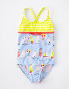 I've spotted this @BodenClothing Hotchpotch Swimsuit Soft Blue Summer Holiday