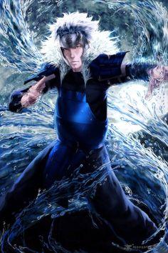 "Tobirama Senju 2nd hokage (ironic he's so ""hot tempered"" in the manga but uses water jutsu )"