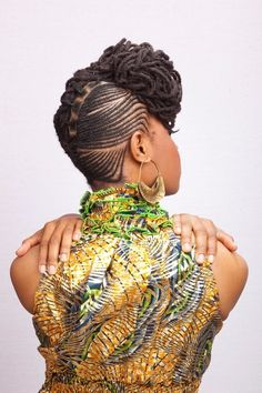ladydeduafe:    Cornrows and locs… Perfection    please someone style my locs