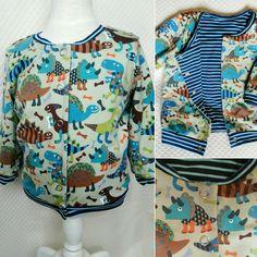 Blouson bébé en coton bio à retrouver sur a Little market http://bidoudoux.alittlemarket.com