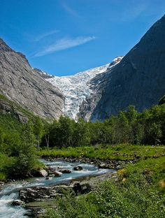 Briksdalsbreen, Jostedalsbreen National Park