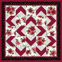 LOVE this pattern! Easy for beginners too! Walk About Quilt Pattern