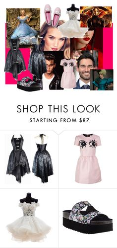 """""""ugly but beauty"""" by thesmithes on Polyvore featuring RED Valentino, Jeffrey Campbell and Keds"""