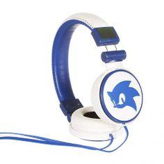 White And Blue #Sonic The#Hedgehog #Headphones xoxo