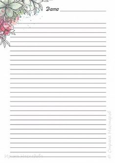 Printable Lined Paper, Free Printable Stationery, Journal Paper, Journal Cards, Easy Crafts To Sell, Cute Journals, Good Notes, Stationery Paper, Note Paper