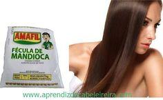 Como Fazer Hidratação nos Cabelos com Fécula de Mandioca ? Hidratação Poderosa !   http://www.aprendizdecabeleireira.com/2015/08/hidratacao-nos-cabelos-com-fecula-de-mandioca.html