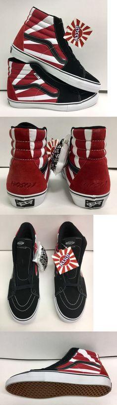 Youth 159072: Vans Sk8 Hi Christian Hosoi Rising Sun Skateboard Shoe Men S 9.5 New -> BUY IT NOW ONLY: $275 on eBay!