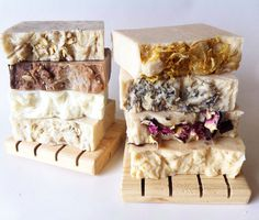 Eight bars of handmade castile soap and two cedar soap decks $50.00. List your soap choices in the message to seller box during checkout.