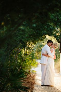 Loving moments between the couple // Photo By: http://candicekphotography.com