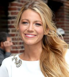 20 ways to wear white eyeliner: Apply the tiniest bit of white shimmer pencil over the inner corner of your eyes, like Blake Lively did here.