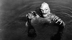 The Creature From the Black Lagoon kicked off one of the most successful trilogies in early horror movie history. Classic Monster Movies, Classic Horror Movies, Classic Monsters, Horror Film, Horror Art, Lake Monsters, Horror Monsters, Mysterious Universe, Monsters