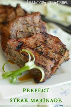 Most flavorful steak marinade I've tried. I was surprised at how easy it was to make. I don't think I will be buying those marinade packets any more!