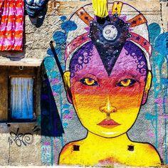 #facebook #graffiti #valparaiso  #colorfull #head #artstreet #art #chile #holiday #holidays