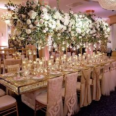 Top 10 Luxury Wedding Venues to Hold a 5 Star Wedding - Love It All Pink And Gold Wedding, Floral Wedding, Wedding Flowers, Wedding Reception Planning, Wedding Planner, Wedding Table Centerpieces, Reception Decorations, Luxury Wedding, Dream Wedding