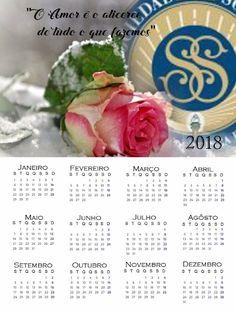 As Tontas Vão Ao Céu: Calendários Anuais da Sociedade de Socorro 2018 (M...