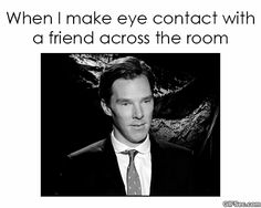 Making eye contact - Reaction GIFS and Best Funny GIFS