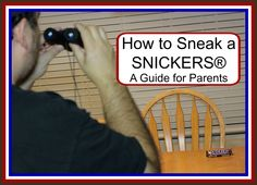 How to Sneak a SNICKERS® – A Guide for Parents #EatASNICKERS #CollectiveBias #ad
