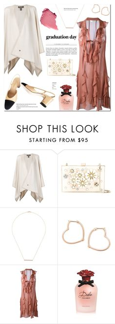 """""""Graduation Day Dress"""" by stellaasteria ❤ liked on Polyvore featuring Loro Piana, Elie Saab, Tara 4779, Luis Miguel Howard, Chloé, Dolce&Gabbana, Chanel and graduationdaydress"""