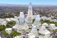 Tashkent City architectural projects, please visit our page to view project details and photos. Futuristic Architecture, Facade Architecture, Urban Park, Conceptual Design, Convention Centre, National Parks, Landscape, City, Building