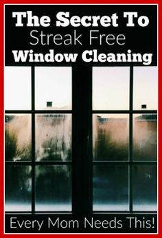 The secret to streak free window cleaning - this is the best cleaning hack that tells you about a green cleaner that uses just water to clean your windows to perfection! I totally wish I had this in my home sooner! Best Window Cleaning Solution, Window Cleaning Solutions, Cleaning Hacks, Cleaning Checklist, Life Hacks Every Girl Should Know, Every Mom Needs, Green Cleaning, Spring Cleaning, Streak Free Windows
