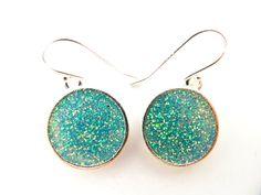 Sterling Silver Earrings Dangle Earrings Shiny Earrings by DLaPaix, $26.00