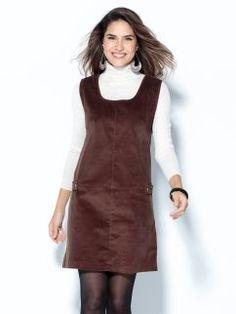 Vestido pichi sin mangas micropana elástica