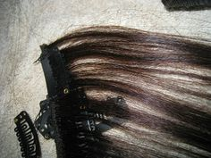 Diy how to make clip on hair extensions from a cheap halloween diy how to make clip on hair extensions from a cheap halloween wig the yesstylist asian fashion blog brought to you by yesstyle pinterest pmusecretfo Choice Image
