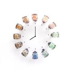 It's Nail O'Clock!!! At TOY is always time for nails! #toystyle #nailpolish #5free #healthy #pastels #neutrals #nude